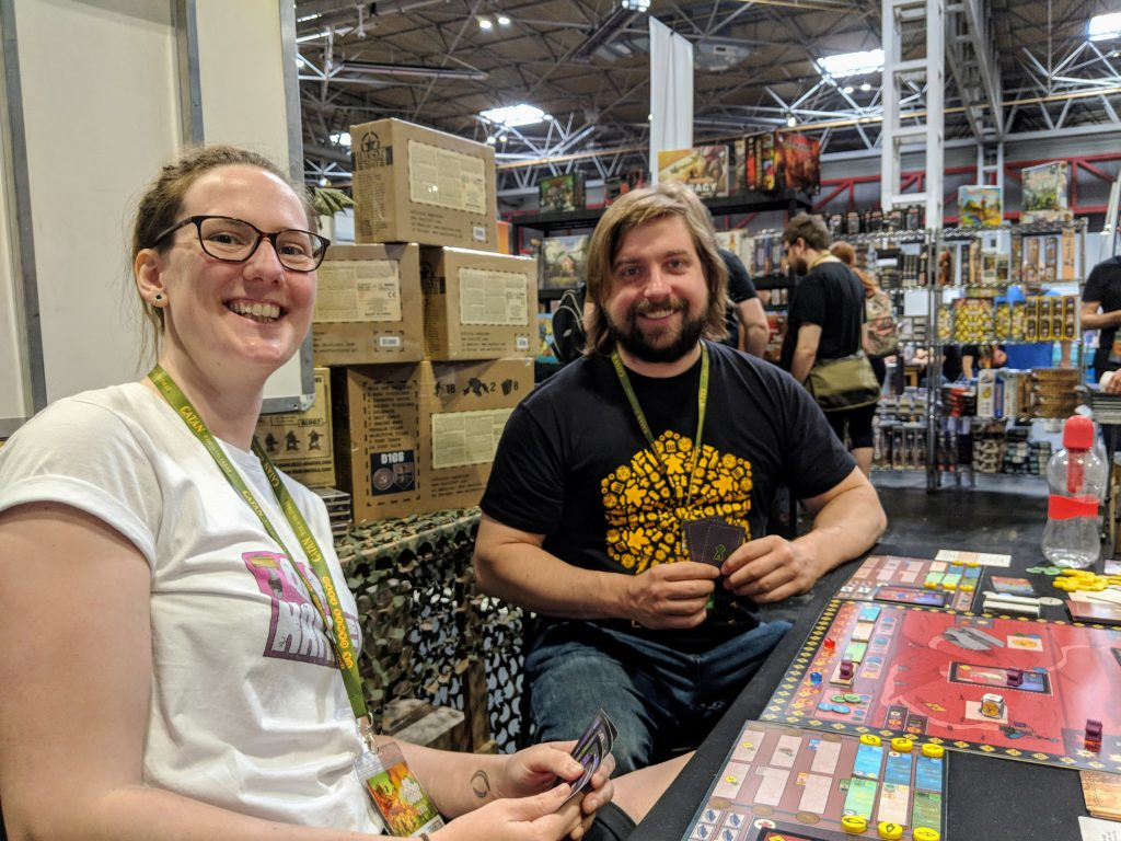 A demo of Arkosa at UKGE